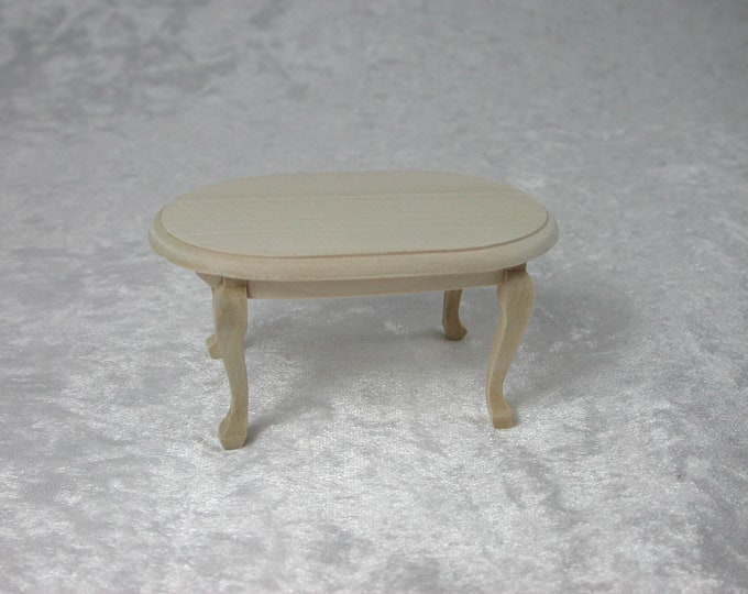 Coffee table, for the doll house, the Dollhouse, Dollhouse miniatures, cribs, miniatures, modelling # 840-426