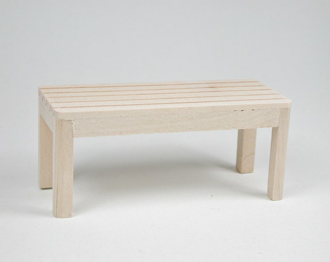 Garden table, for the doll's house, the doll's house, Dollhouse miniatures, nativity scenes, miniatures, model making