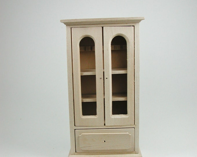 Bookcase, for the doll's house, the Dollhouse, Dollhouse miniatures, cribs, miniatures, modelling # 840-356