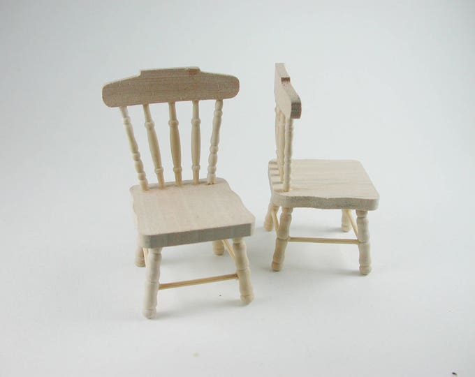 Chair 1 piece, for the doll's house, the doll's house, Dollhouse miniatures, nativity scenes, miniatures, model making