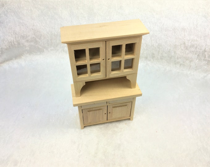 Kitchen buffet, for the dollhouse, the dollhouse, dollhouse miniatures, cribs, miniatures, model making