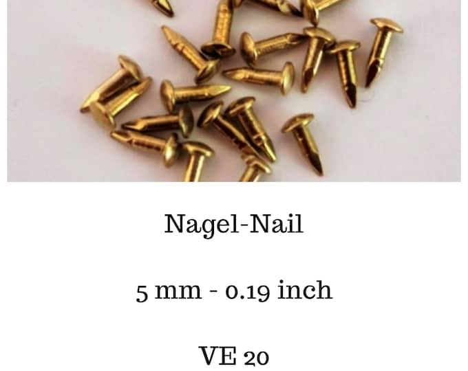 Nail, nails for the dollhouse, the dollhouse, dollhouse miniatures, cribs, miniatures, model making