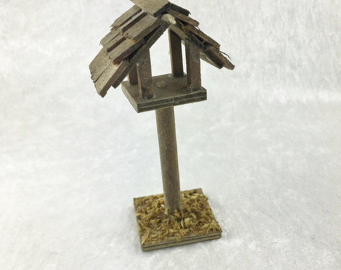 Birdhouse, for the dollhouse, the dollhouse, Dollhouse Miniatures, cribs, miniatures, model making