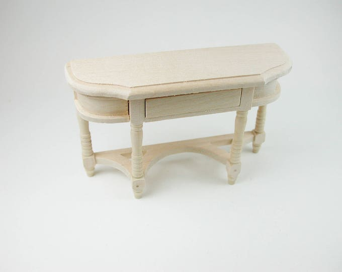 Console table, for the doll's house, the doll's house, Dollhouse miniatures, nativity scenes, miniatures, model making
