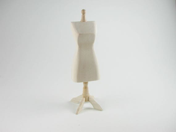 Tailor's bust, dress bust for the doll parlor, Doll House, Dollhouse miniatures, cribs, miniatures, Model Building # v 22050