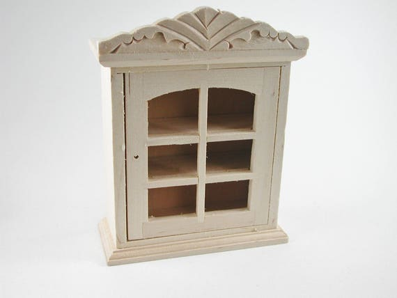 Hanging cupboard, for the doll's Parlour, the doll's House, Dollhouse miniatures, cribs, miniatures, Model Building # v 23441