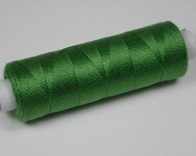 5053 Venne Cotton, mohair, knitting and crochet thread for miniature handicraft, color willow Green