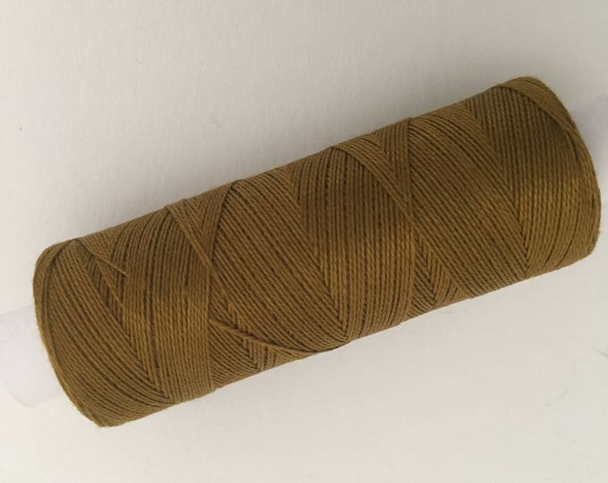 5041 color Brass, Venne cotton 34/2, knitting and crochet thread for miniature work