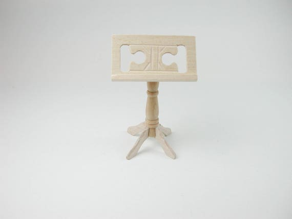 Music stand, for the doll parlor, the doll's House, Dollhouse miniatures, cribs, miniatures, model building # 840-0