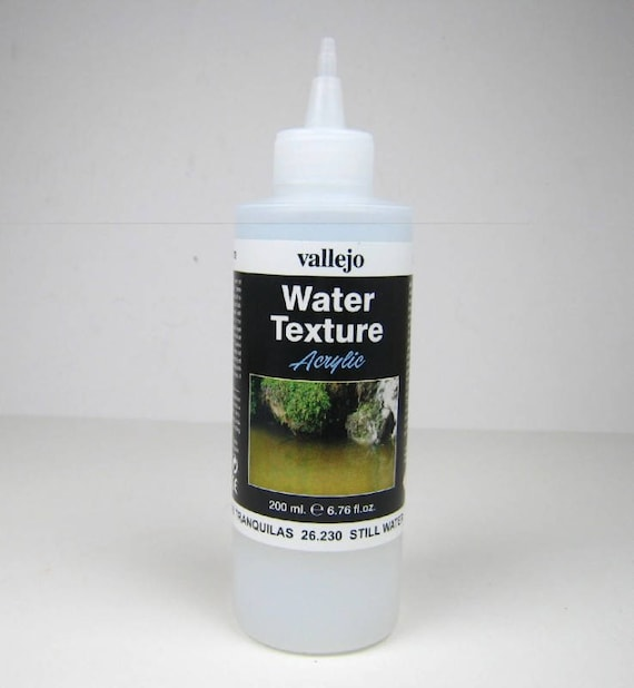 Vallejo water effects still water 200ml for the doll parlor, the doll house, Dollhouse miniatures, model making