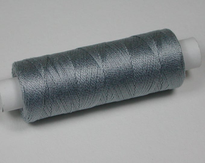 7002 Venne wool, cotton, knitting and crochet thread for miniature handicraft, colour light grey