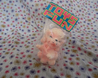 Edward mobley, Arrow rubber and plastics corp. Mint in package Rubber squeak toy puppy dog, kitten