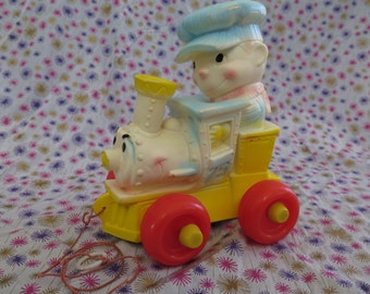 Edward Mobley, Arrow Rubber and Plastics company, Squeak toy, Lil' Choo the Happy Engine