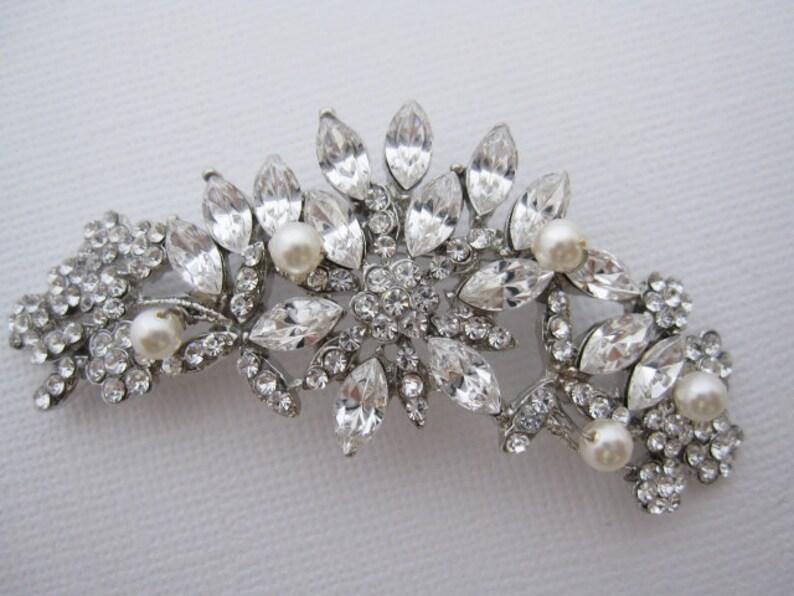 72dd21eb8b7 Wedding Brooches Wedding jewelry brooches Bridal jewelry | Etsy