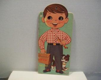 Jim or His Peek-A - Book Lowe publ #2360 1961 darling!  vintage book
