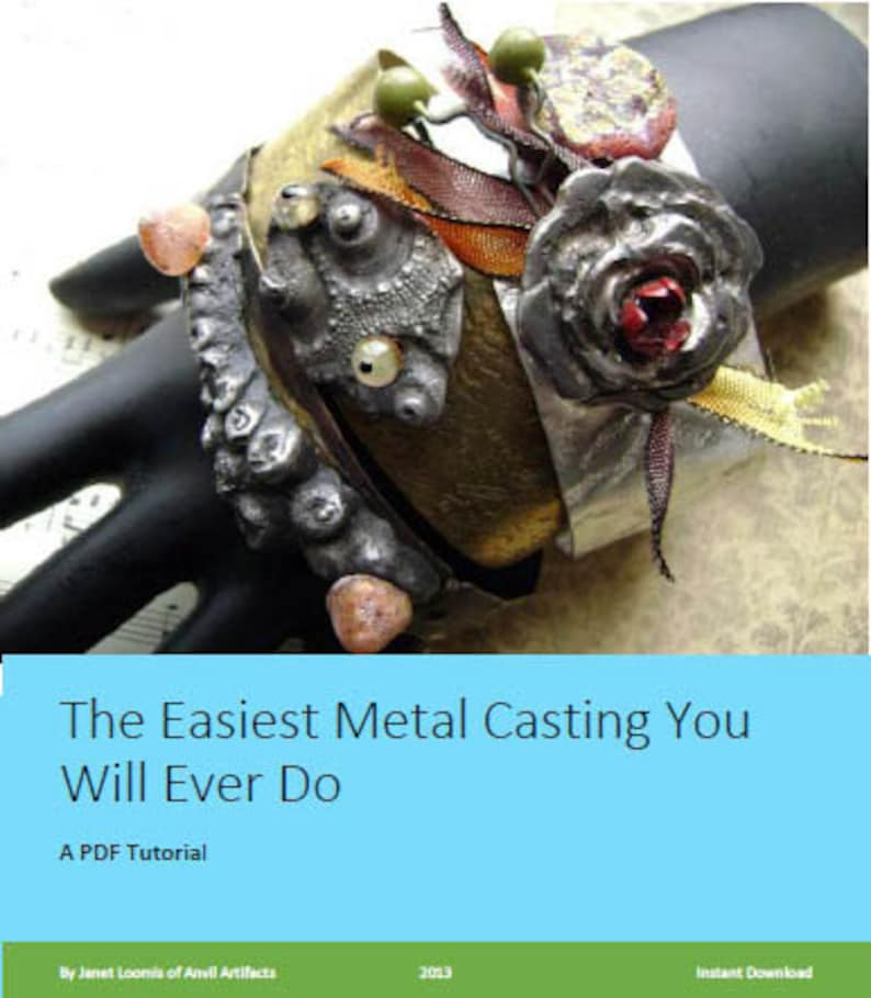 PDF Tutorial The Easiest Metal Casting You Will Ever Do by image 0