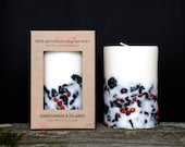 Buy 2 get 3. Genuine Icelandic Soy Wax Candle. Rowan berries and 2000 years old Lava stones.  Apple/cinnamon scent.