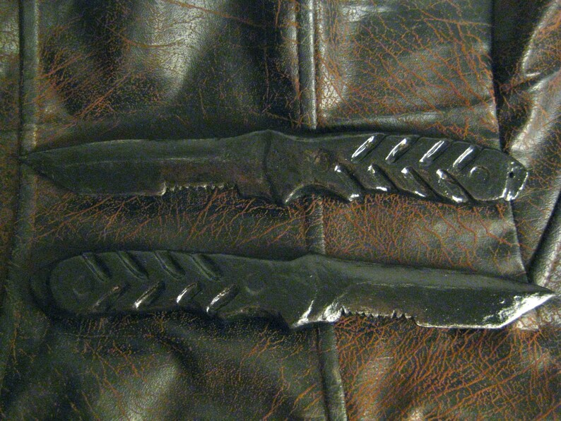 Winter Soldier Knives Set of 2 Made to Order