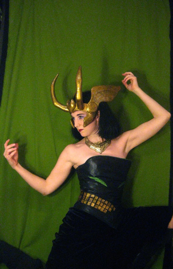 Loki Agent Of Asgard Headpiece Style 3 Made To Order Etsy
