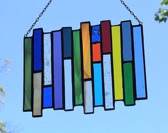 Stacked Stripe • Suncatcher • Panel