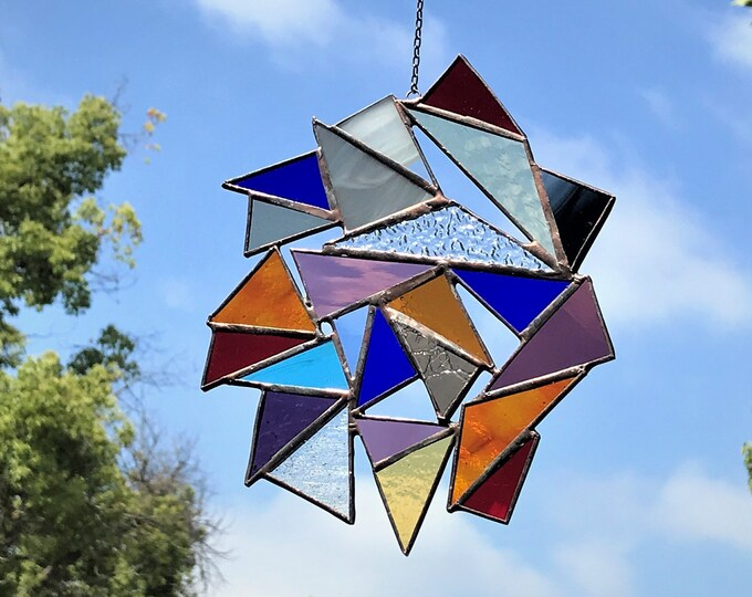 Triangle Suncatcher
