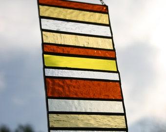 Stacked Stripe • Panel • Suncatcher