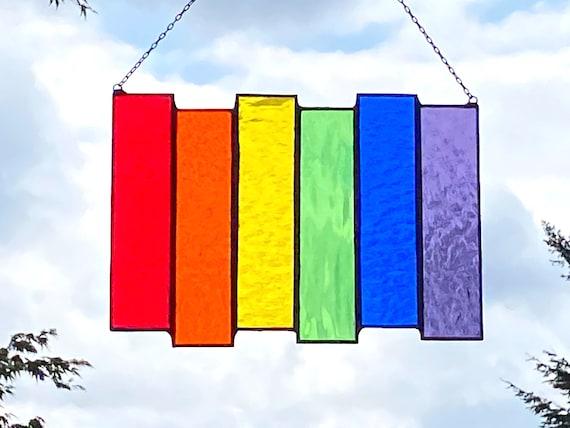 Rainbow ~ Pride Panel • Suncatcher