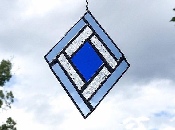 Blue Diamond • Suncatcher