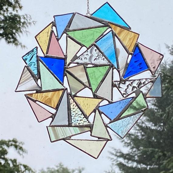 CUSTOM Triangle Suncatcher
