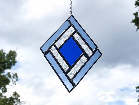 Blue Diamond • Suncatcher