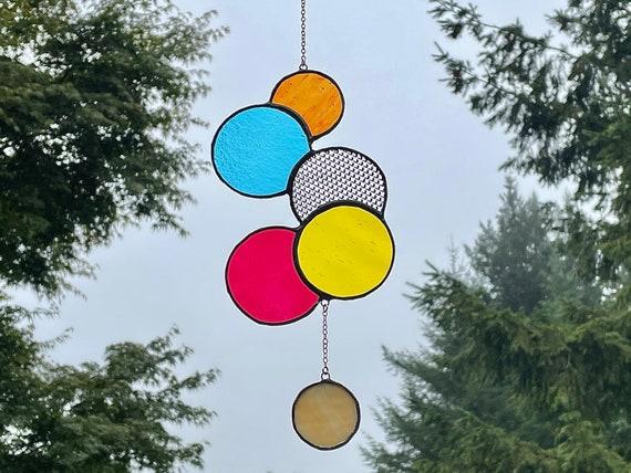 Modern Circle Suncatcher