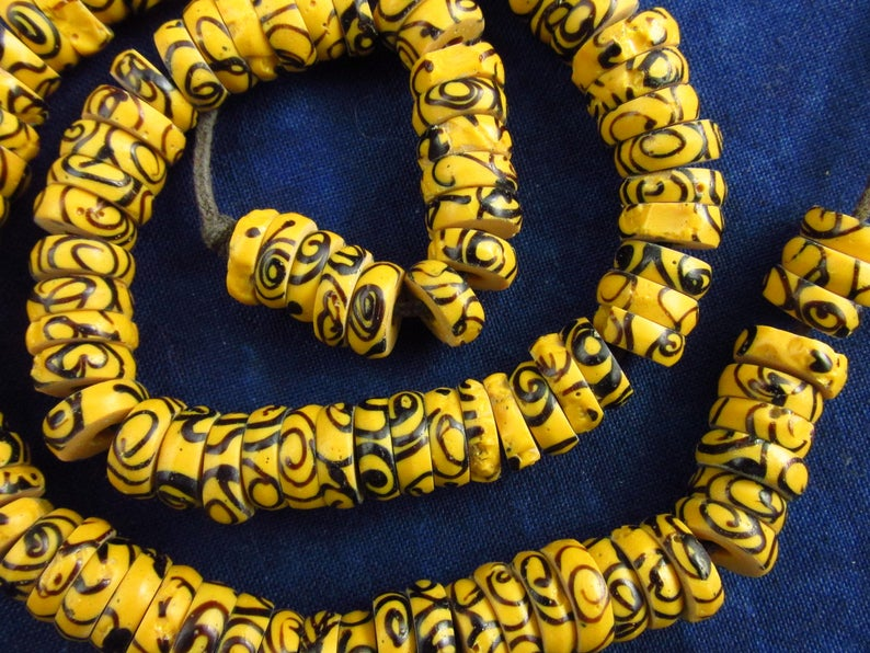 Antique Fancy Venetian Glass Trade Beads