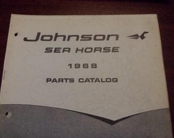 1965 Johnson Outboard Motors Parts Catalog | Etsy