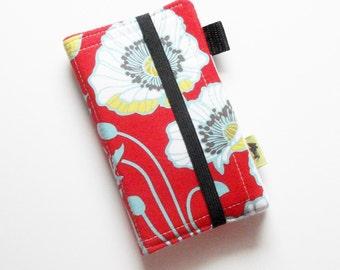Womans wallet, iphone wallet, iphone 5, smartphone wallet, samsung case, summer wallet, wristlet, boho natural, TLC Pouches, samsung wallet
