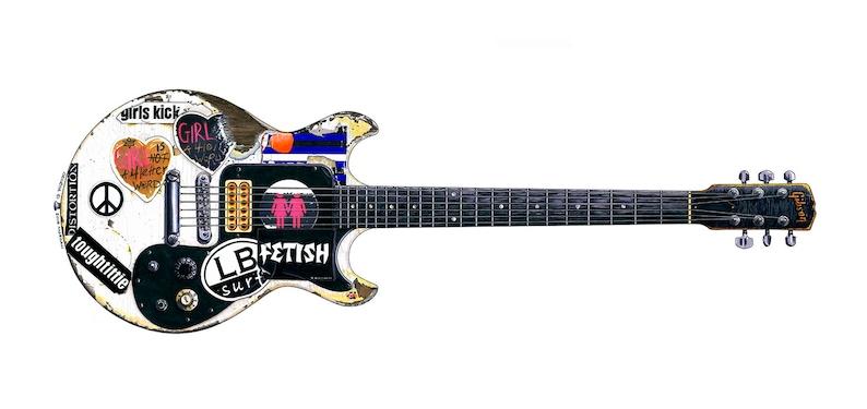 El borde de 1976 Gibson Explorer Greeting Card DL Tamaño