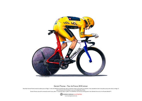 Chris Froome Tour de France 2013 winner ART POSTER A3 size