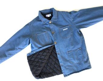 restyled Padded jeans jacket medium size