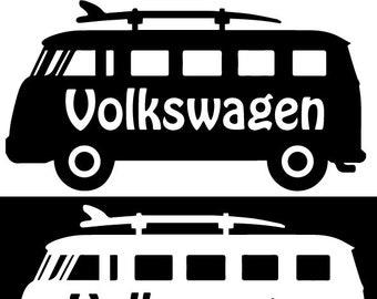 VW Volkswagen Bus Sticker Decal