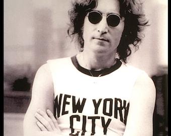 John Lennon New York Sticker