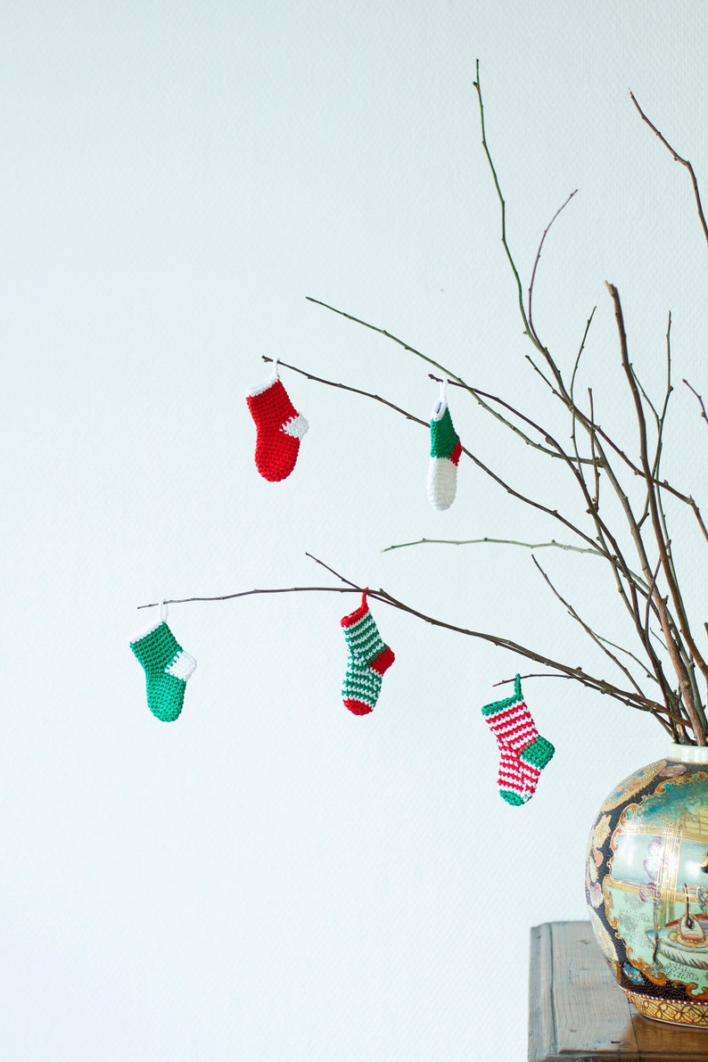9aef6c244af Mini Christmas Stockings Christmas Festive Decorations