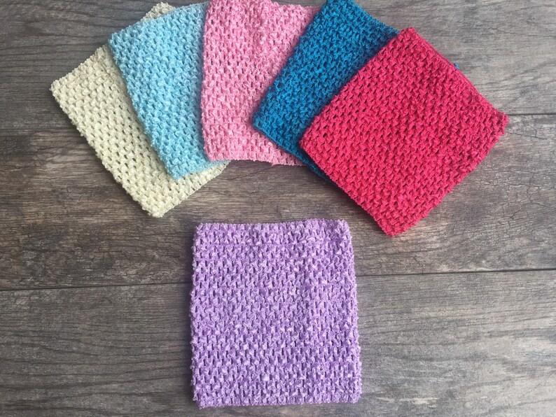 Tutu Supply Crochet Headband Waffle Headband 8 Inch Etsy