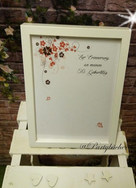 Gastebuch Bilderrahmen Personalisiertes Geschenk Zur Hochzeit