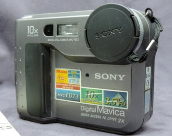 Sony MDC-FD73 Floppy Disk Camera For Parts F6J30