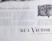 Vintage Original 1950 39 s RCA Victor Radio Advertisement.Vintage Radio Advertisement.Nostalgic Wall Art.Mid Century Modern.Vintage Advertising