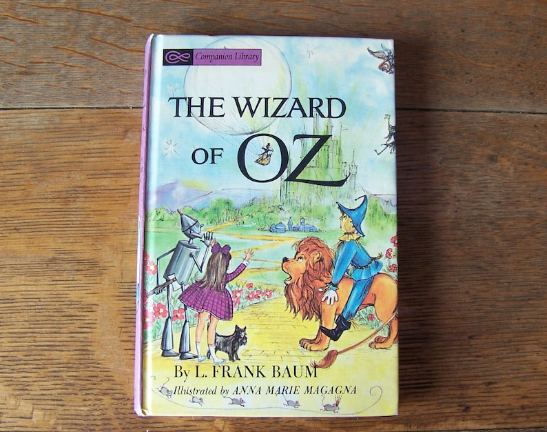 Frank Baum Hardcover Dustjacket The First Five Novels L NEW The Wizard of Oz