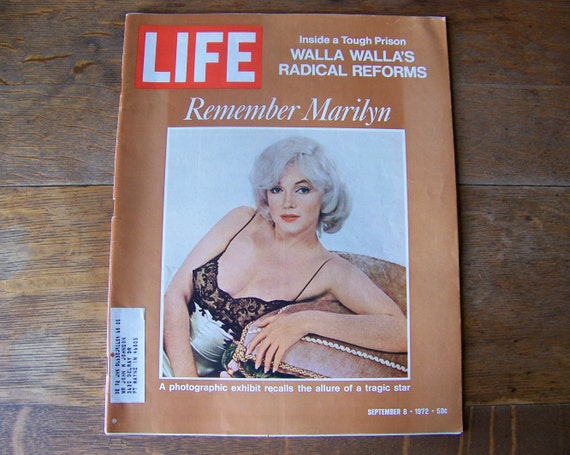 MARILYN MONROE Life Magazine Cover POSTER April 7 1952 24X36 Luminous Star
