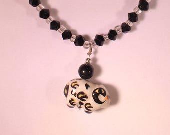 Ceramic Ram Necklace