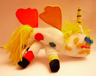 Soft toys made to order from child's own drawing