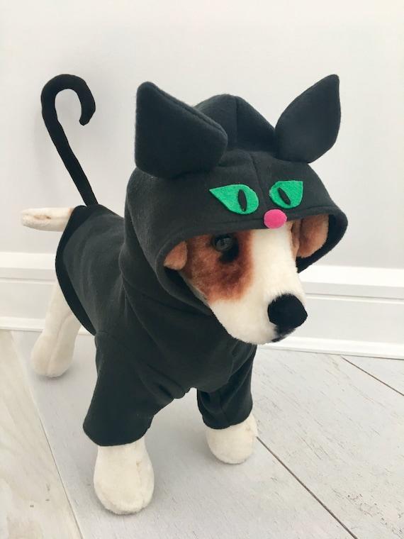 schwarze katze kost m cat kost m hund halloween kost m von etsy. Black Bedroom Furniture Sets. Home Design Ideas