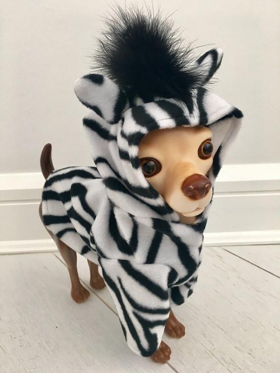 Zebra Kostüm Hund Zebra Kostüm Hund Halloween Kostüm Haustier Kostüm Von Fiercepetfashion